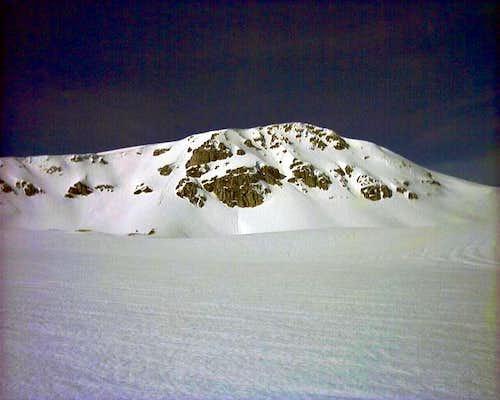 Monte Greco in the winter...
