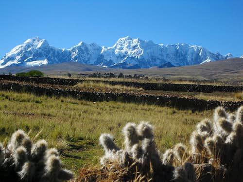 The Callangate chain in the Cordillera Vilcanota