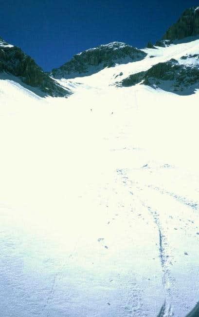 By ski