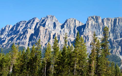 Castle Mountain, Alberta