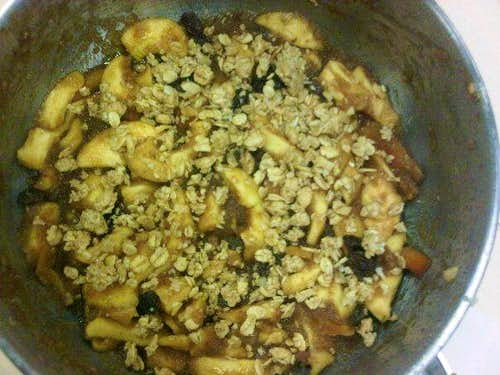 Apple-lachion Brown Betty