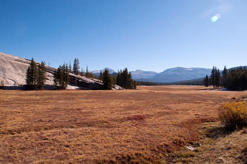 Tuolumne Meadows and Pothole Dome