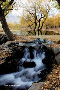 Khaplu Baltistan during Autumn