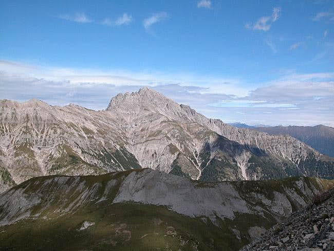 Hochstadel seen from the west...