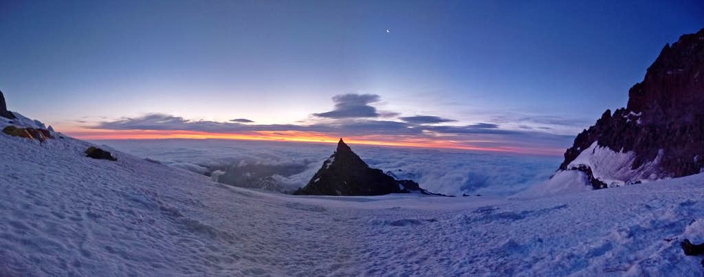 Ingraham Flats Morning Panorama
