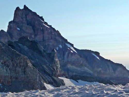 Little Tahoma from Camp Muir