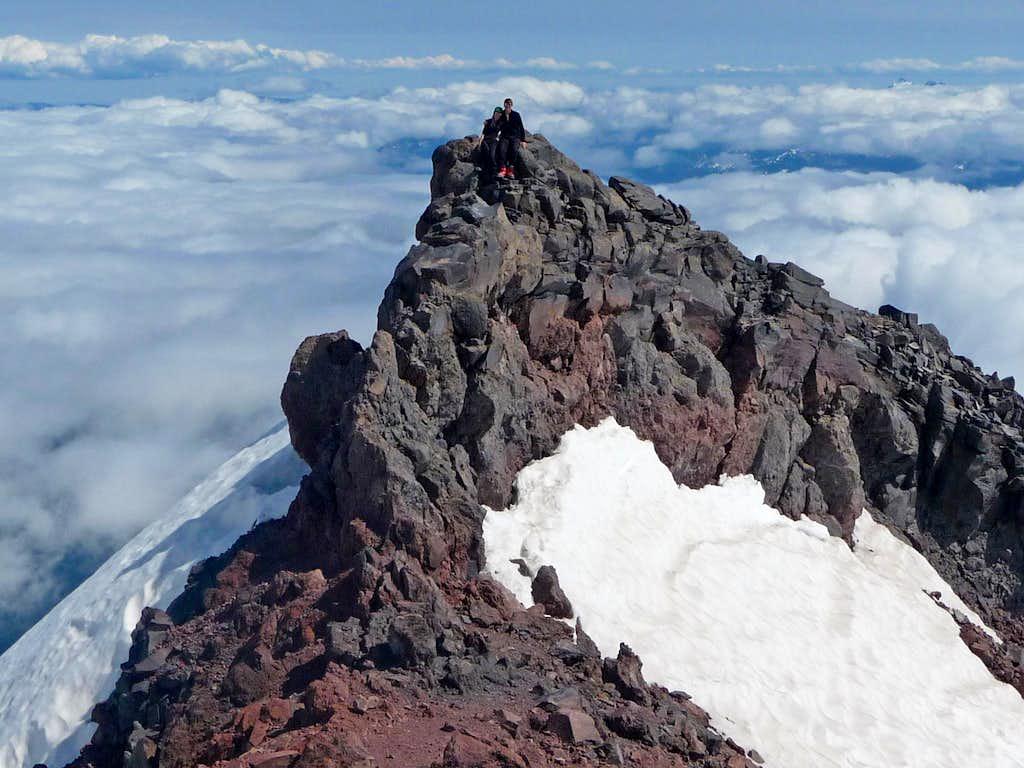 On the Summit of Muir Peak