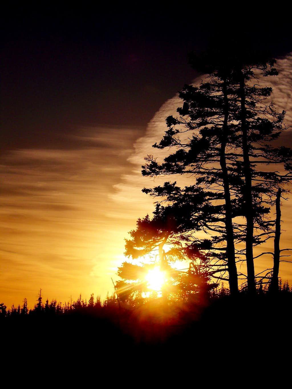 Sunset on quoddy head