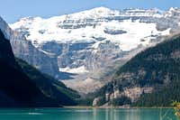 Lake Louise and Upper Victoria Glacier