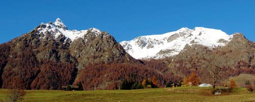 Autumn Colors in the Aosta Valley