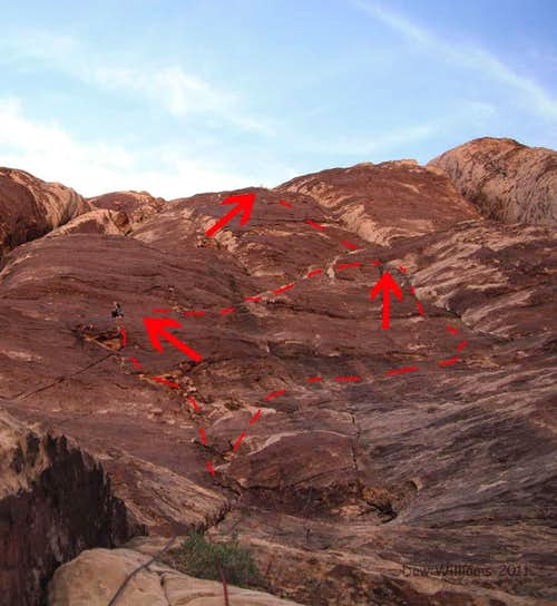 Peyote Power, 5.9, 6 Pitches