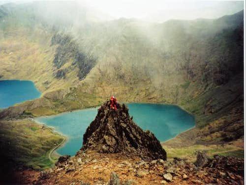 A small ridge on Garnedd...