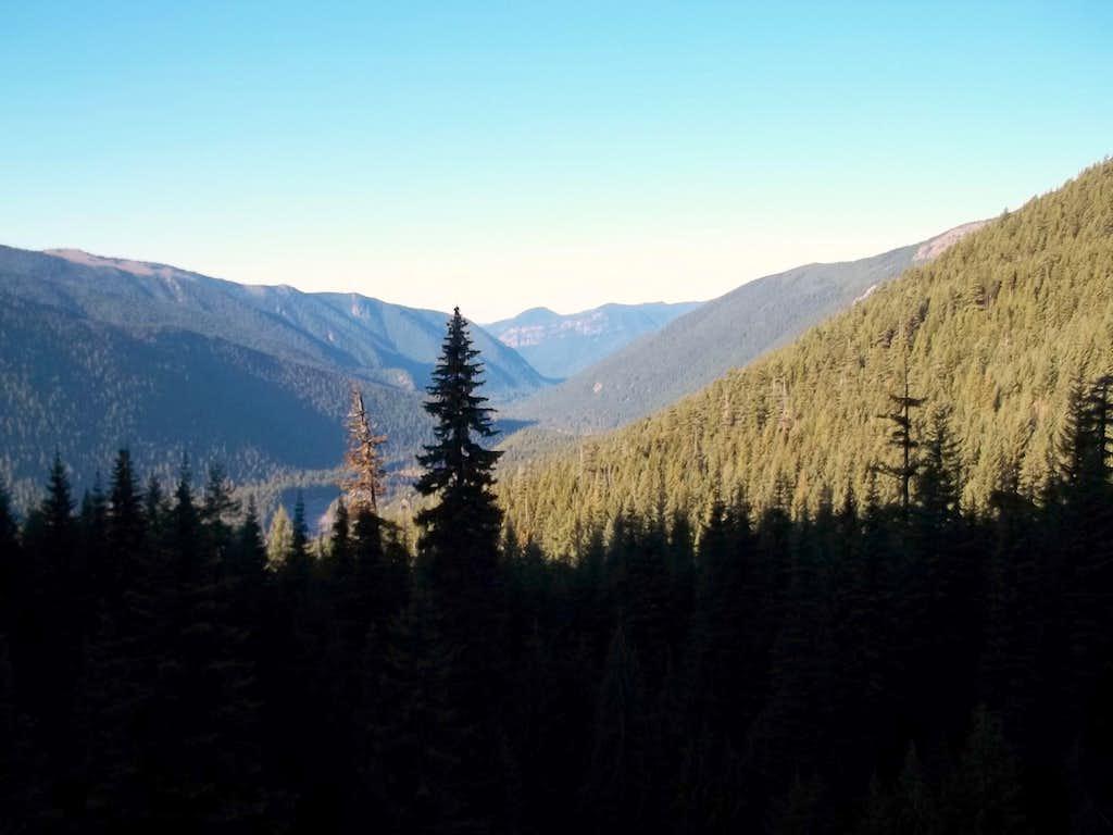 Heading Up the Crystal Peak Trail