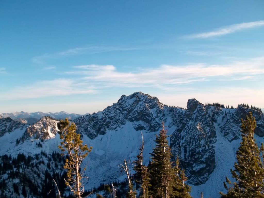 Chinook from Crystal Peak