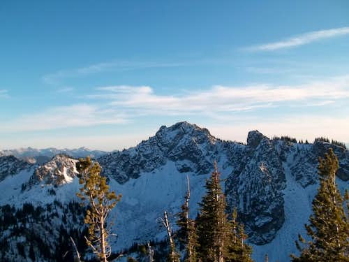 Chinook from Crystal Peak