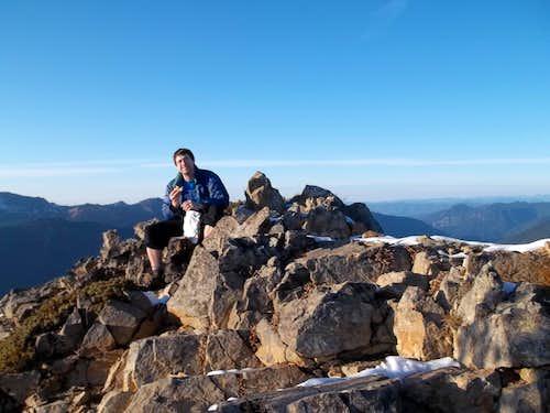 Jordan on the summit