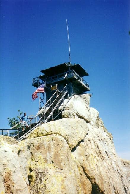 The Needles fire lookout,...
