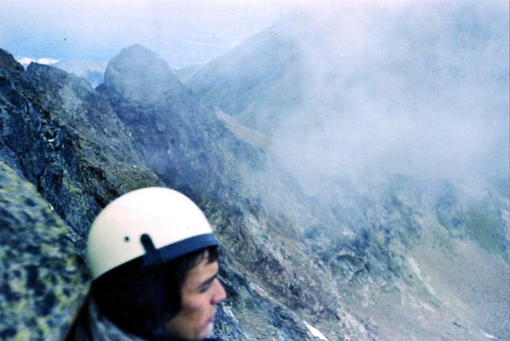 Brooken's SPECTRE on WEST Ridge