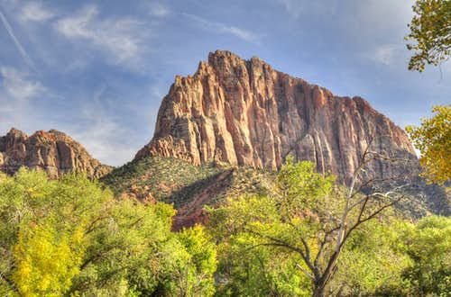 Zion NP in Fall