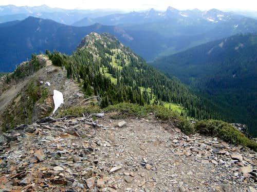 Tahtlum Peak summit.