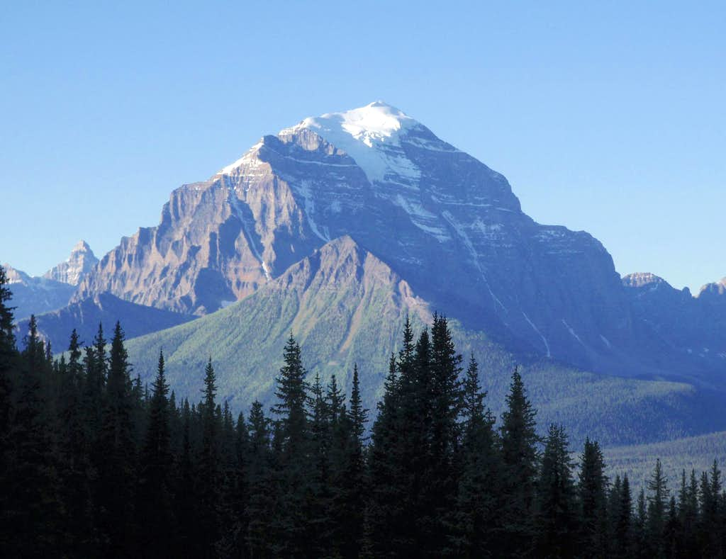 Mount Temple North Face