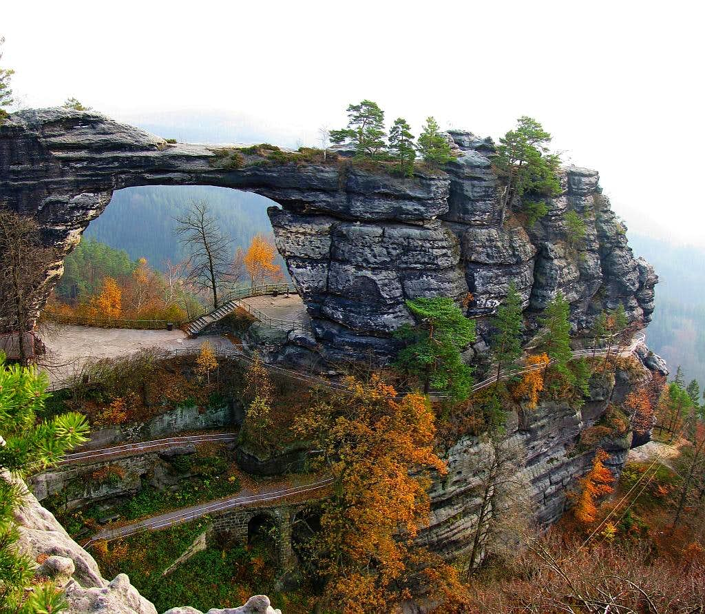 The biggest rock arch in Europe