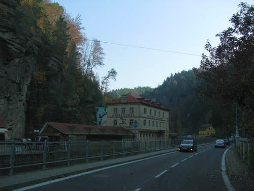 Road to Hrensko