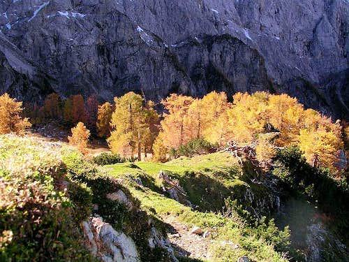 Sleme plateau from Slemenova...