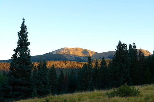 Pecos Baldy from Jacks Creek Trail