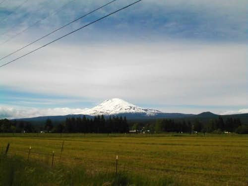Mount Adams, photo by J. Grove