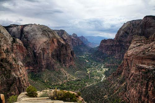 Angel\'s Landing summit view