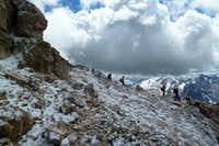 Final ascent to Piz Boe
