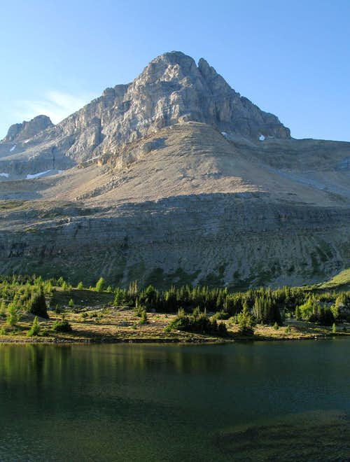 Ptarmigan Peak And Lake