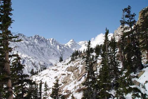 Niwot Ridge and Navajo on the...
