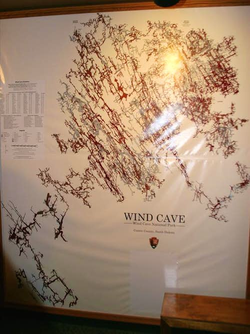 Wind Cave Map