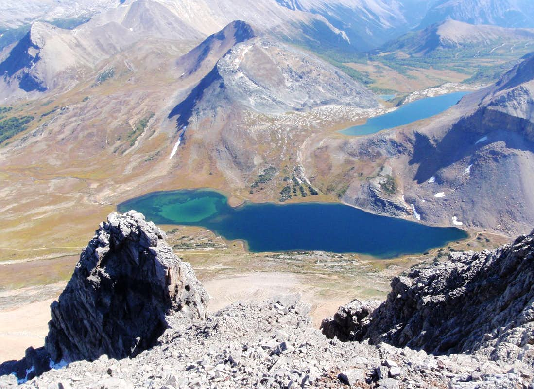 Ptarmigan And Redoubt Lakes