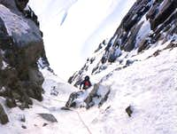 Eldorado Peak, NW Ice Couloir