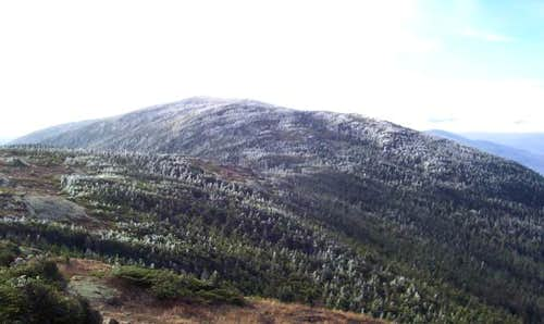 Mt. Pierce, from the shoulder...