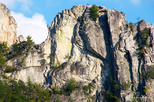 Seneca, South Peak, West Face