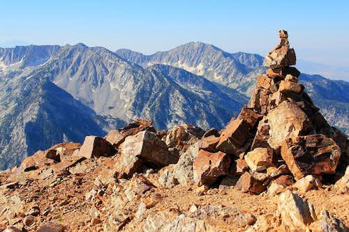 Broads Fork Twin Peaks, west summit area.
