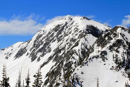 Lone Peak, Rocky Mouth Canyon Peak.