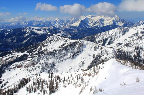 Southern Wasatch Range.