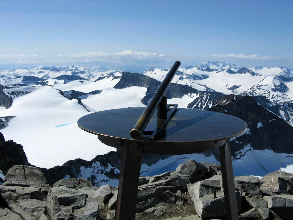 Galdhoppigen summit signal