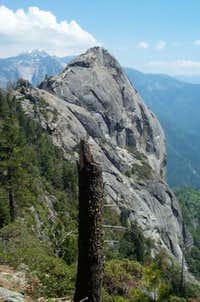 Moro rock view from Balance...