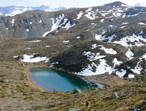 From Tête des Hommes to Vernouille Lake