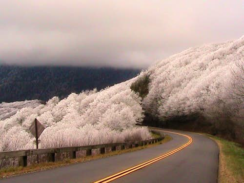 Mt Mitchell approach...