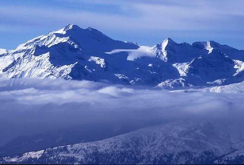 summit view to Hochalmspitze...