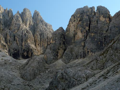 Pala di Punta Ellie North-East Face