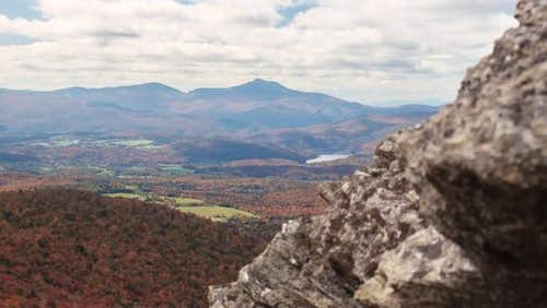 Camel\'s Hump from Stowe...