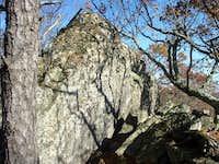 Sugar Knob Summit Rock